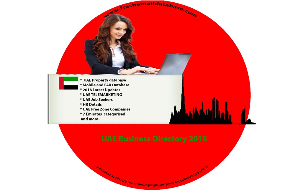 List of uae companies directory email database.