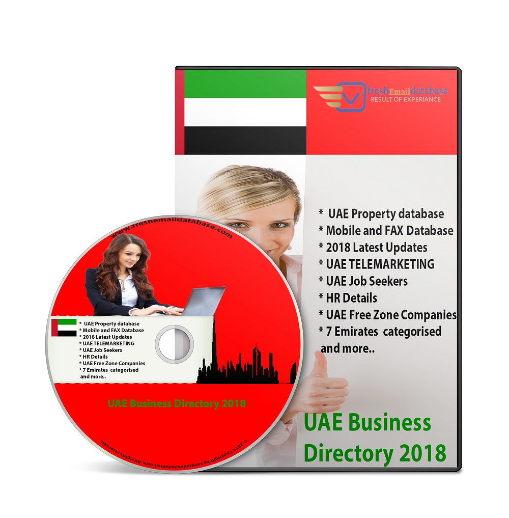 Uae business and consumer database 2018 – fresh email database.